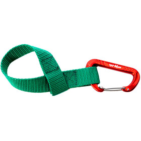 TowWhee Quick Loop Strap with Mini Carabiner green